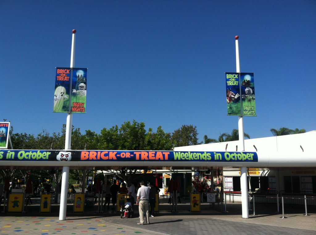 trick or treat sandiego california legoland