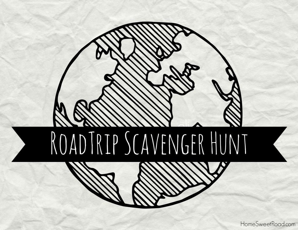 roadtrip scavenger hunt ideas