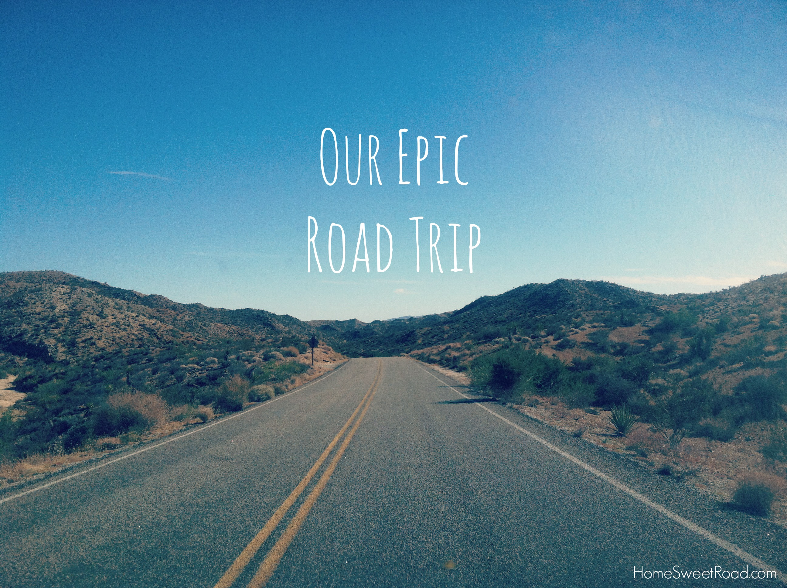 Our Epic Road Trip fro...