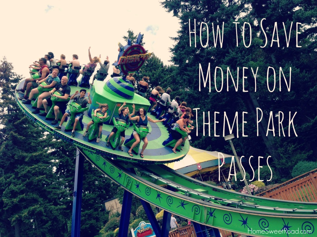 how to save money on theme park passes
