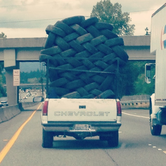 That's one way to do it!  #heavyload #makeitwork