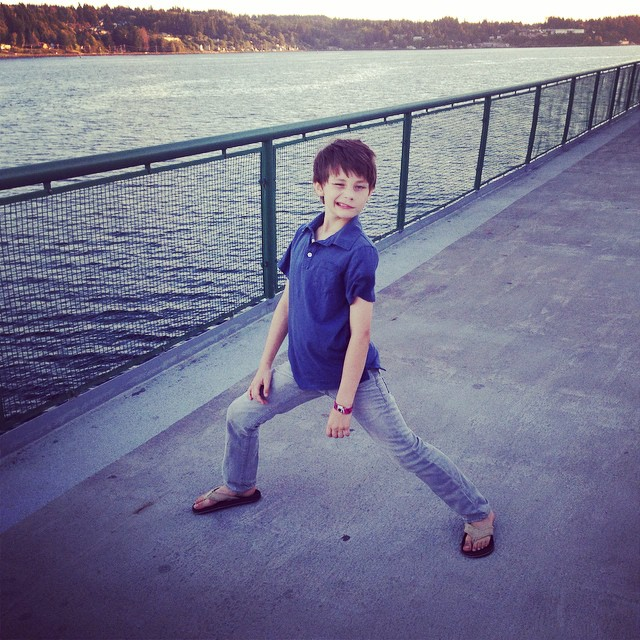 My crazy kid!  #familyadventures #boys #neveradullmoment